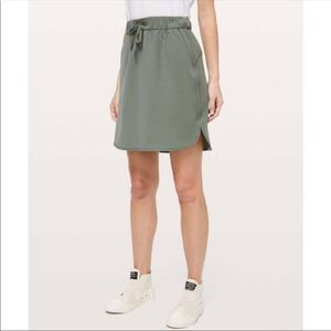 On the fly Lululemon skirt